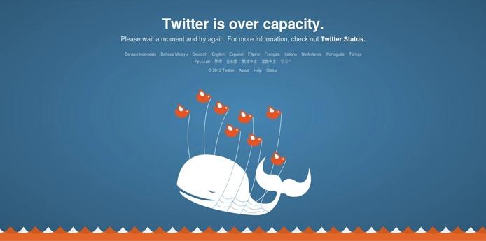 Pesan error 502 Bad Gateway di Twitter