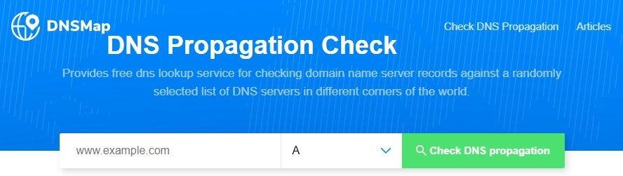 Tool untuk mengecek status propagasi domain