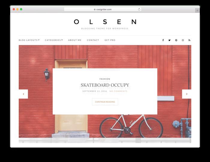 Tema Olsen Light