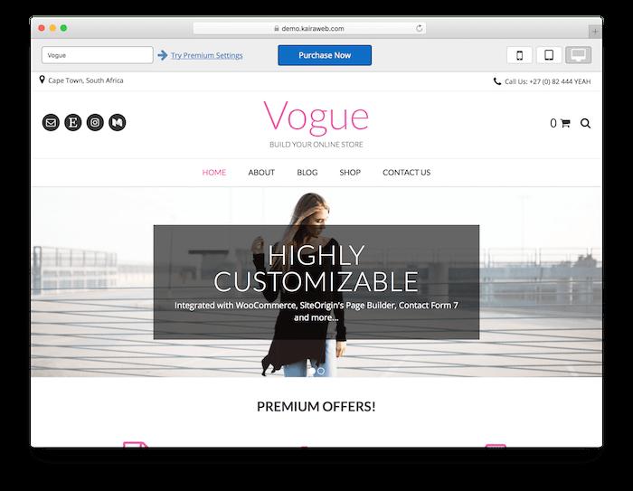 Tema Vogue